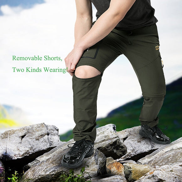Men's Summer Outdoor Hiking Pants Stretch Quick Dry Pants