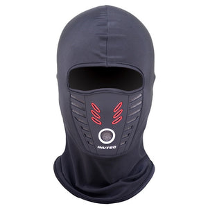 Winter Outdoor Neck Full Face Mask Warm Quick Dry Windproof Fleece Protection Hat Ski Helmet Cap Sports Fleece Mask Head Cover