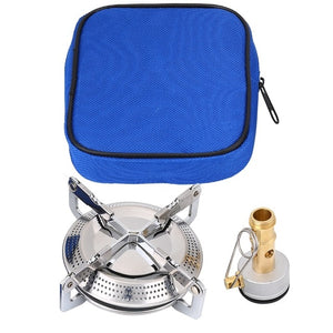 Portable Kerosene Stove Camping Picnic Burner Furnace Sturdy Durable Camping Cookware Outdoor Portable Supplies Silver Cookware