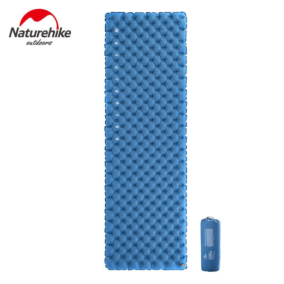 Naturehike Ultralight Compact Folding Inflatable Outdoor Camping Mattress Portable Backpacking Sleeping Pad Hiking Sleeping Mat