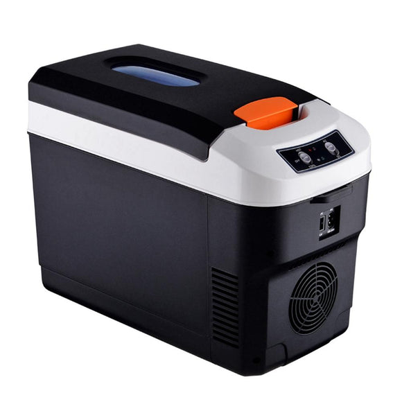 Car Fridge 10L Mini Refrigerator Car Home Dual-use Refrigerator Outdoor Camping Refrigerator Portable Cooler Arcon Congelador