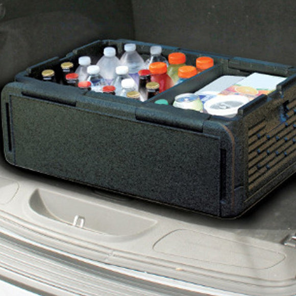 35L Portable Size Car Refrigerator Auto Interior Fridge Drink Food Cooler Warmer Box for Car Outdoor Camping Picnic