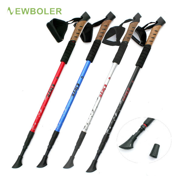 Nordic Walking Sticks Telescopic Baton Trekking Poles