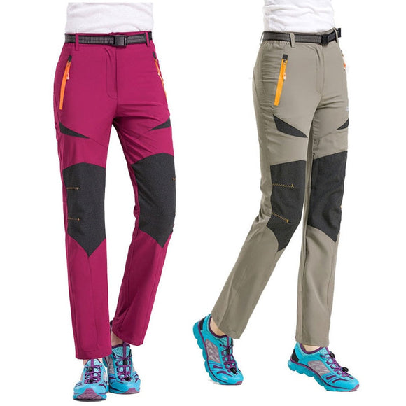 Fishing Climbing Trekking Camping Trousers Quick Dry Female Pant