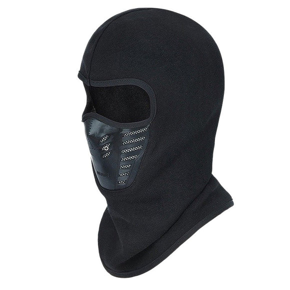 Face Mask Outdoor Winter Warm Bicycle Bike Climbing Skiing Windproof Carbon Filter Thermal Fleece Balaclava Head Protector