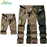 Men's Summer Removable Hiking Pants Outdoor Camping Trip Trousers