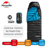 Naturehike CW400 Sleeping Bag Ultralight Winter Goose Down Hiking Sleeping Bag