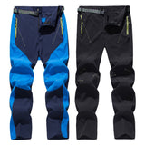 Outdoor Quick Dry Hiking Pants Men Trekking Stretch Waterproof Breathable
