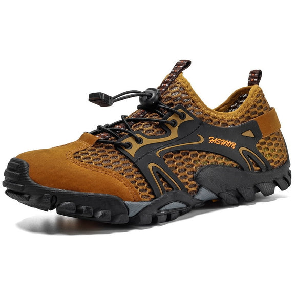 summer Hiking Shoes Men Outdoor Trekking Shoes Anti-Skid Rock Climbing Shoes Tracking Shoes Outventure Mountain Wading shoes