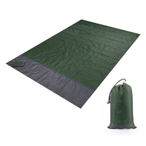 2 Sizes Foldable Waterproof and Ultra Durable Picnic Mat Outdoor Travel Portable Beach Mat Sleeping Mattress For Camping Hiking