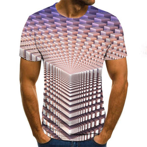 2020 Summer style Men Women Fashion Short sleeve funny T-shirts The 3d print casual t shirts
