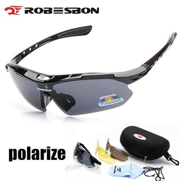 Polarized Cycling Glasses Eyewears 3 Lens