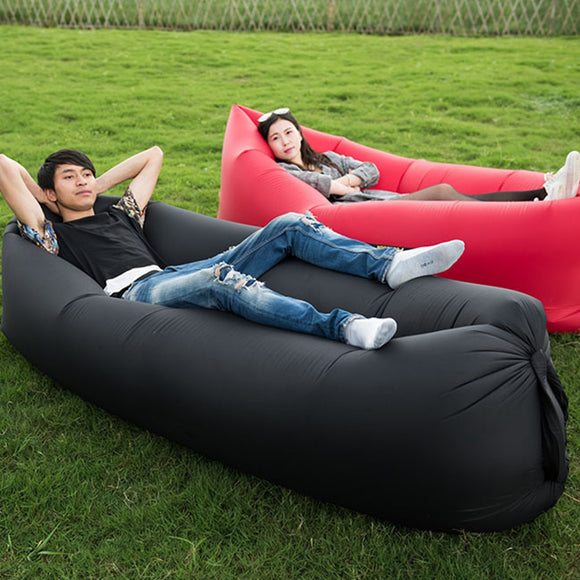Camping Inflatable Sofa Outdoor Lazy Bag