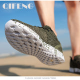 Men Aqua Shoes Breathable Trekking Wading Beach Quick Drying Water Shoes Outdoor Fishing Wading Shoes Water Sneakers Men Lace Up