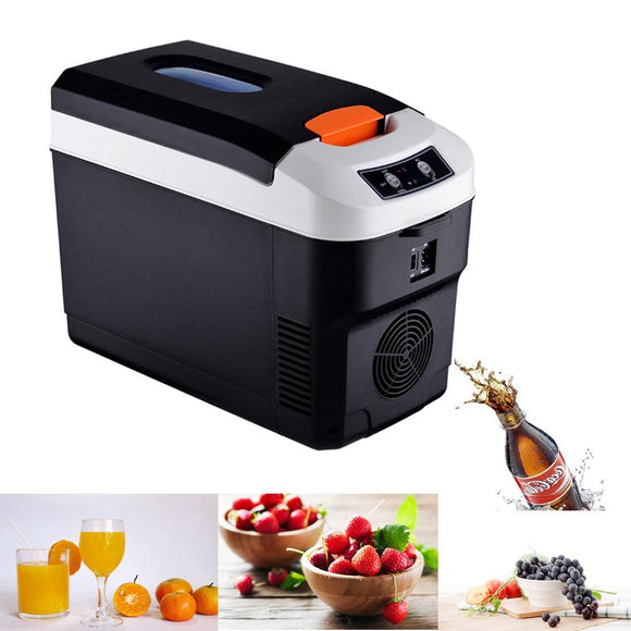10L Refrigerator Car Home Dual-use Refrigerator Outdoor Camping Refrigerator Portable Cooler 12v24V Car Fridge For Home Car