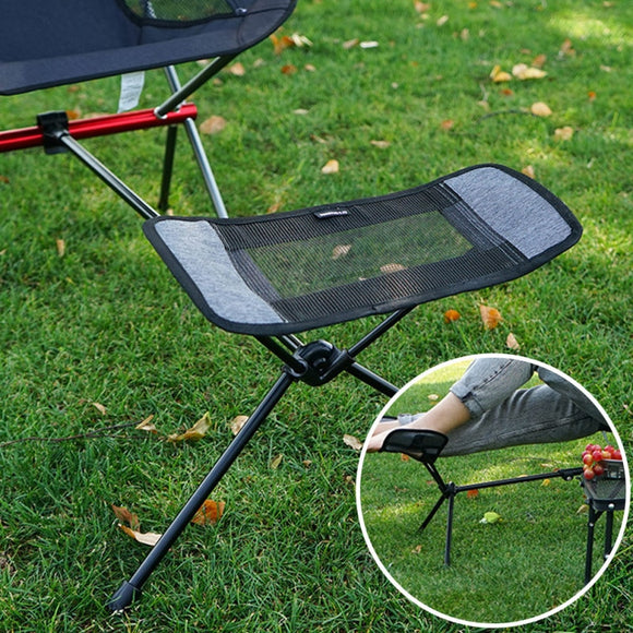 Outdoor Folding Camping Fishing Chair Footrest Portable Recliner Retractable Leg Chair Camping BBQ  Fishing Picnic Chair Stool