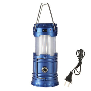 VKTECH Solar Powered Portable Retractable LED Camping Tent Light 3 in 1 Flexible Flame EffectLamp Outdoor Lantern Flashlight Hot