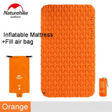 Naturehike Outdoor Ultralight Inflatable Mattress 2 Person Sleeping Pads Waterproof Bags Thicken Camping Mat With Fill Air Bag