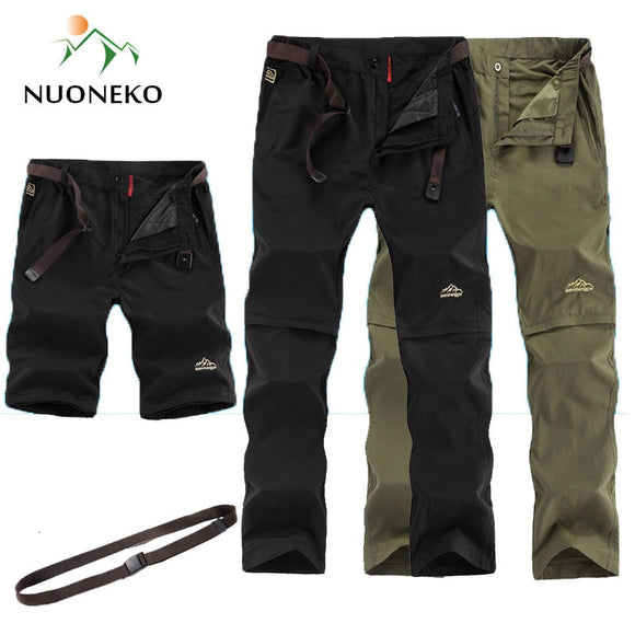 Outdoor Quick Dry Hiking Pants Men
