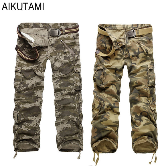 Outdoor Camping Hiking Pants Camo Pants