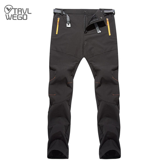 Quick Dry Pants Men Summer Breathable Camping Trousers