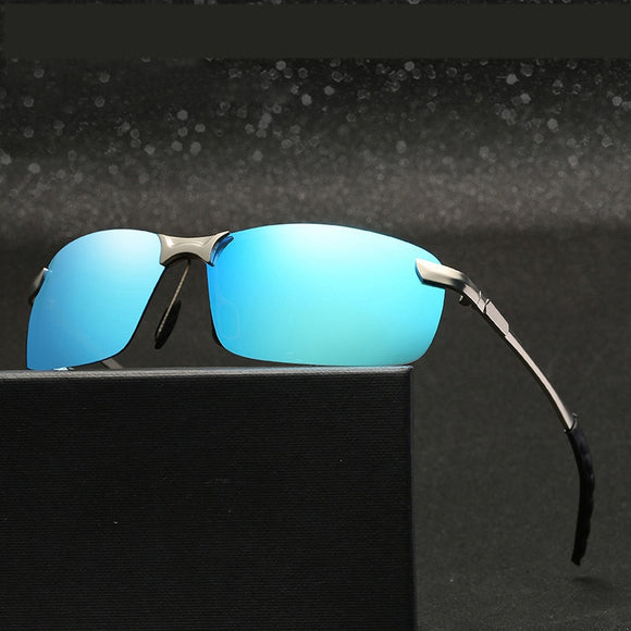 Outdoor UV Polarized Sunglasses for Men Shades for Driving Trekking