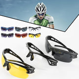 Outdoor Cycling Sunglasses Shadow Transparent Lens