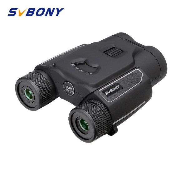 SVBONY SV203 8-16x25 binoculars continuous zoom High power optical telescope HD picture bird watching outdoor travel hunting