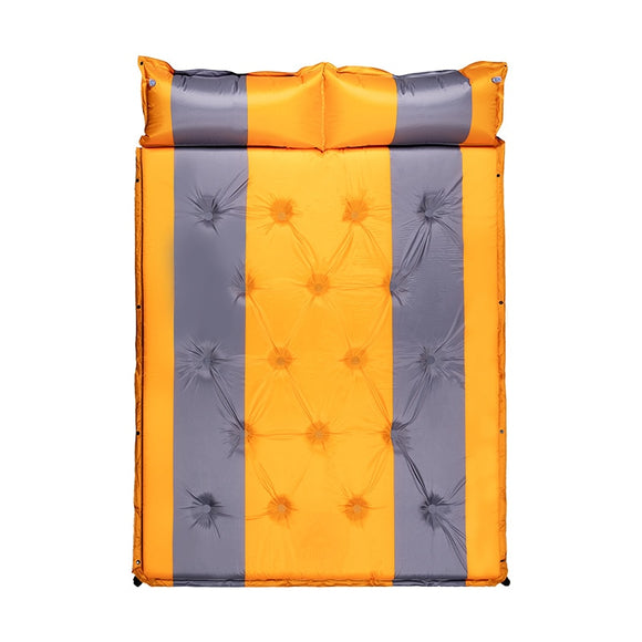Thickened Sleeping Pad Foam Self-Inflating Camping Mat for Backpacking Sleeping Pad Double Sleeping Mat Camping Pad