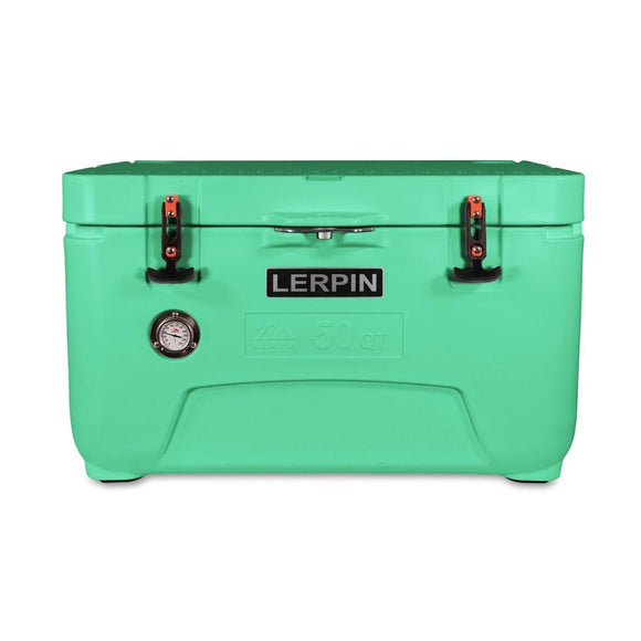 Wholesale 50qt Promotion Plastic  Cooler Box Ice chest camping cooler box Fishing