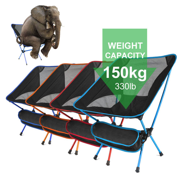 Ultralight Folding Camping Chair Fishing Picnic Chair BBQ Hiking Chair Outdoor Tools Travel Foldable Beach Seat Chair стул