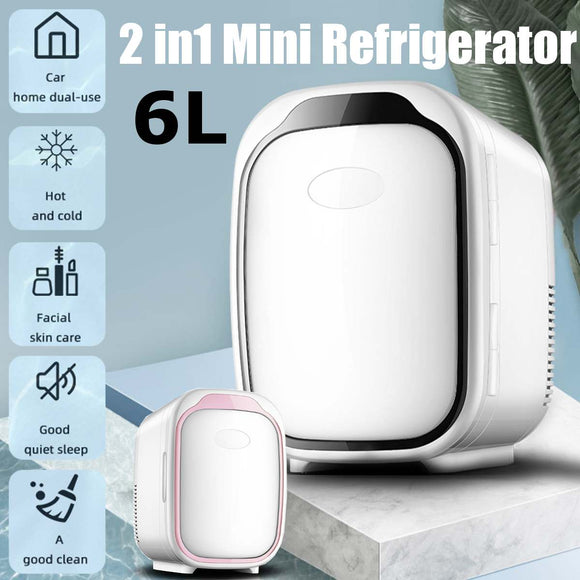 6L DC12V Car Refrigerator Portable camping picnic Refrigerator Mini Fridge Compressor Car freezer Car Fridge cooler box