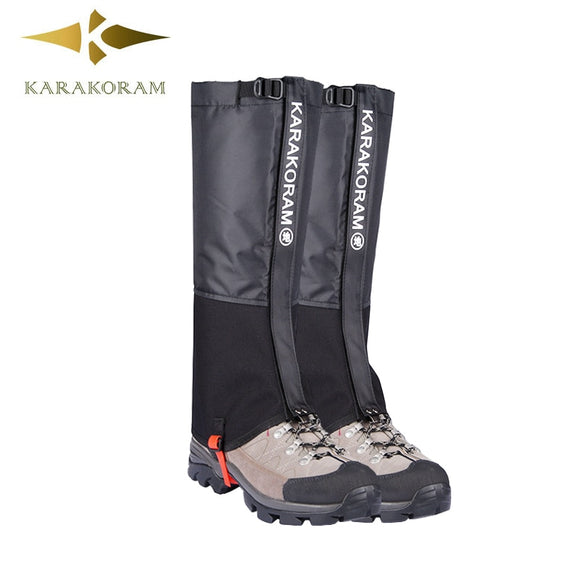Outdoor Camping Hiking Climbing Waterproof Snow Legging Gaiters for Men and Women Teekking Skiing Desert Snow Boots Shoes Covers