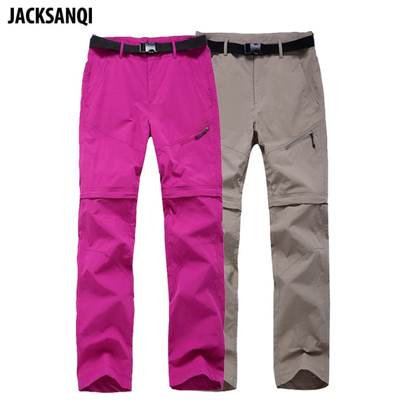 JACKSANQI Women Quick Dry Removable Pants