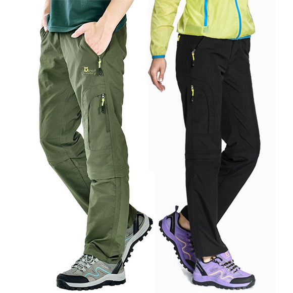 Waterproof Hiking Pants Women/Men Quick Dry Trousers