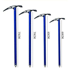 Outdoor climbing equipment Professional Ice hammer Climbing Rock Ice axe Camping Aluminum Design hammer Hiking Glacier Ice Axe