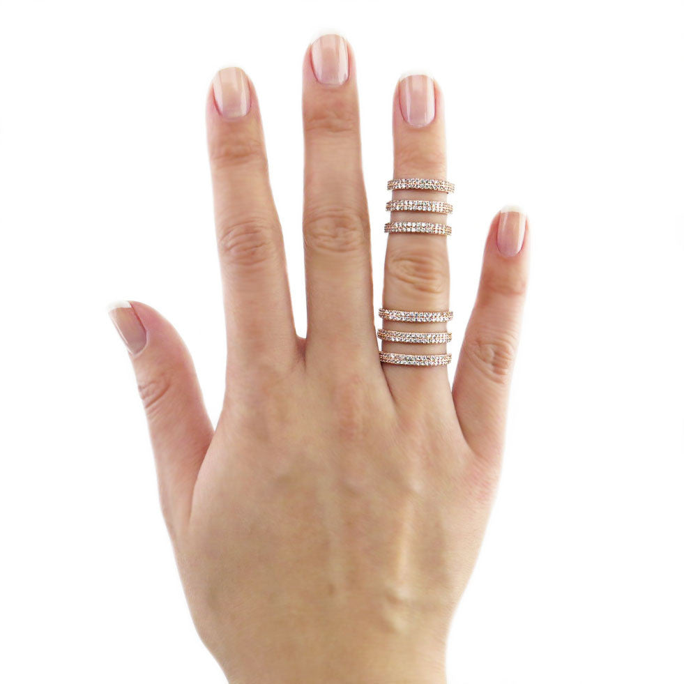 Triple Threat Ring Set