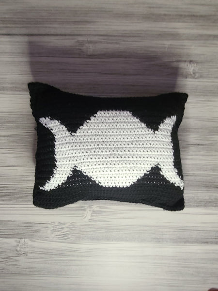 Triple Moon Pillow Cover Only