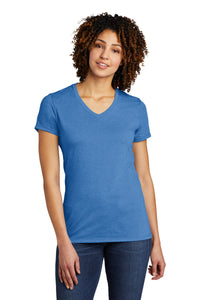 Liberty Lions Women's Relaxed Jersey Short Sleeve V-Neck