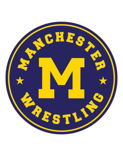Manchester Wrestling Sticker 2 pack