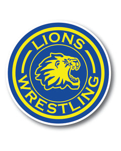 Liberty Lions Sticker 2 pack