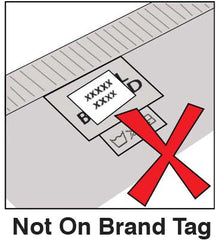 Stick On Label Instructions Not on Brand Tag