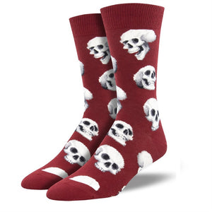 Socksmith Men's: Sacred Skulls