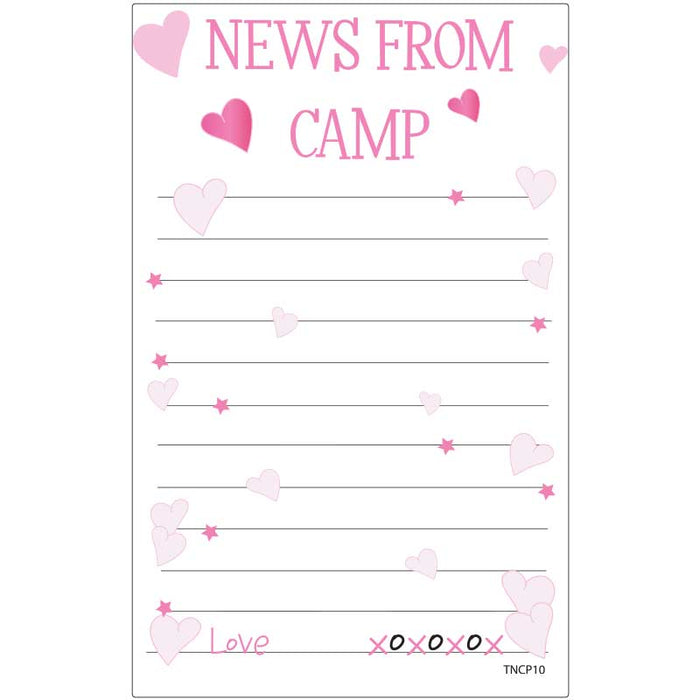 Camp Stationery - News From Camp