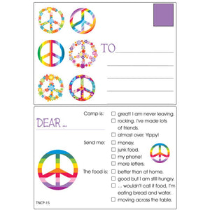 Camp Stationery - Peace