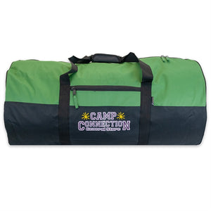 Green Camp Connection Campers Duffel Bag