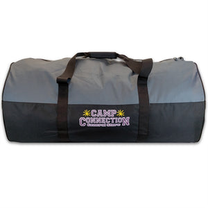 Grey Camp Connection Campers Duffel Bag