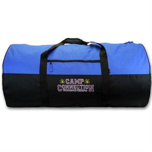 Blue Camp Connection Campers Duffel Bag