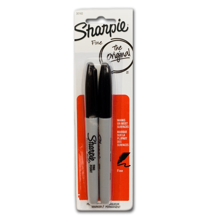 Sharpie Black Permanent Marker 2pk