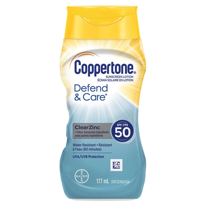 Coppertone Defend and Care SPF 50 177ml